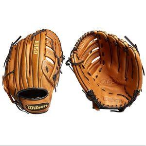 "Wilson all leather 12.5"" baseball glove NWT"